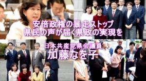 神奈川県議会議員選挙立候補者の新年の挨拶